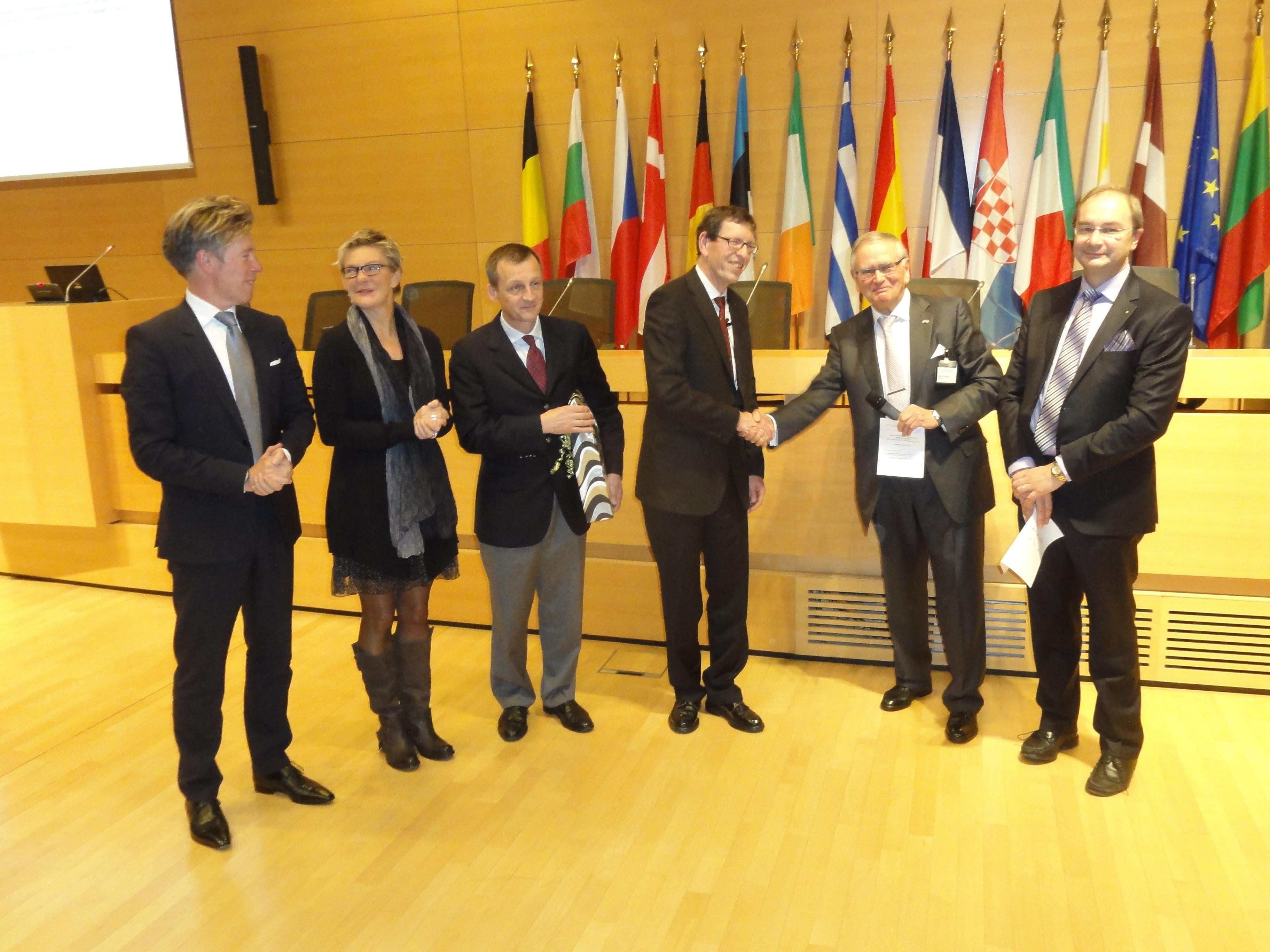 Grand Prix 2013 en sciences biologiques / Prix CACTUS : Professeur Dr Claude P.MULLER (CRP-Santé) / lauréat