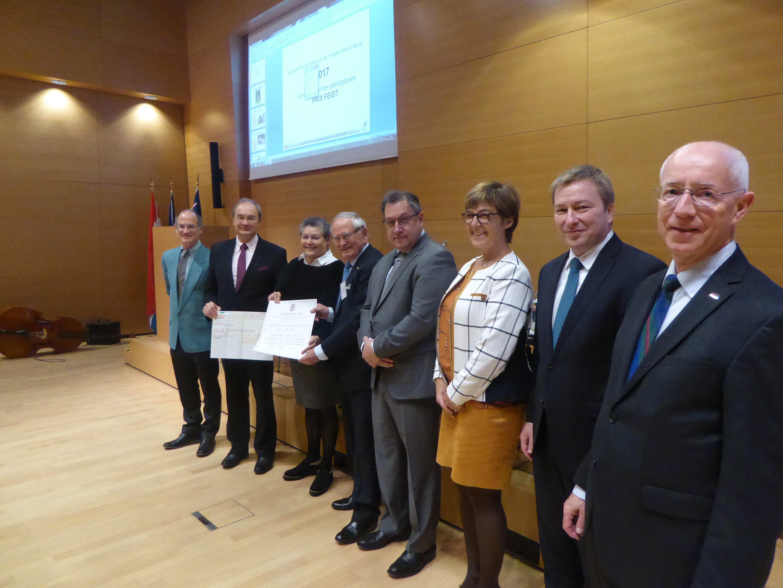 Grand Prix 2017 en sciences géologiques / Prix FEIDT : Professeur Tonie VAN DAM (Université du Luxembourg) / lauréat