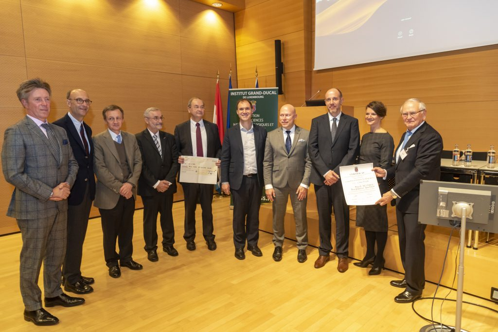 Grand Prix 2018 en sciences biologiques de l'Institut grand-ducal / Prix CACTUS : Professeur Dr Paul Wilmes (Université du Luxembourg) / lauréat