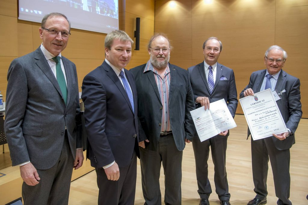 Grand Prix 2016 en sciences mathématiques de l'Institut grand-ducal / Prix de la Bourse de Luxembourg : Professeur Dr Martin Schlichenmaier (Université du Luxembourg) / lauréat