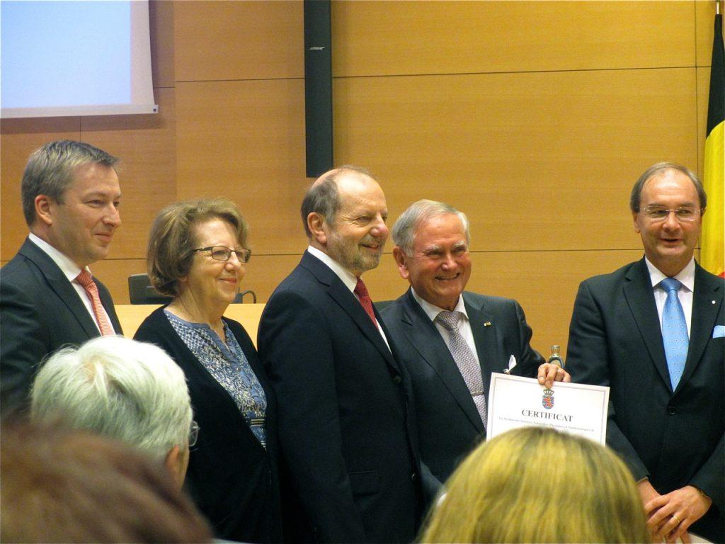 Grand Prix 2014 en sciences chimiques de l'Institut grand-ducal / Prix Paul METZ : Professeur Dr François DIEDERICH (Eidgenössische Technische Hochschule Zürich) / lauréat